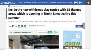 Grimsby Live Article